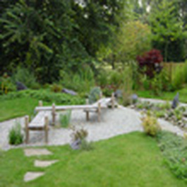 Sensory gardens stimulate different movement modalities