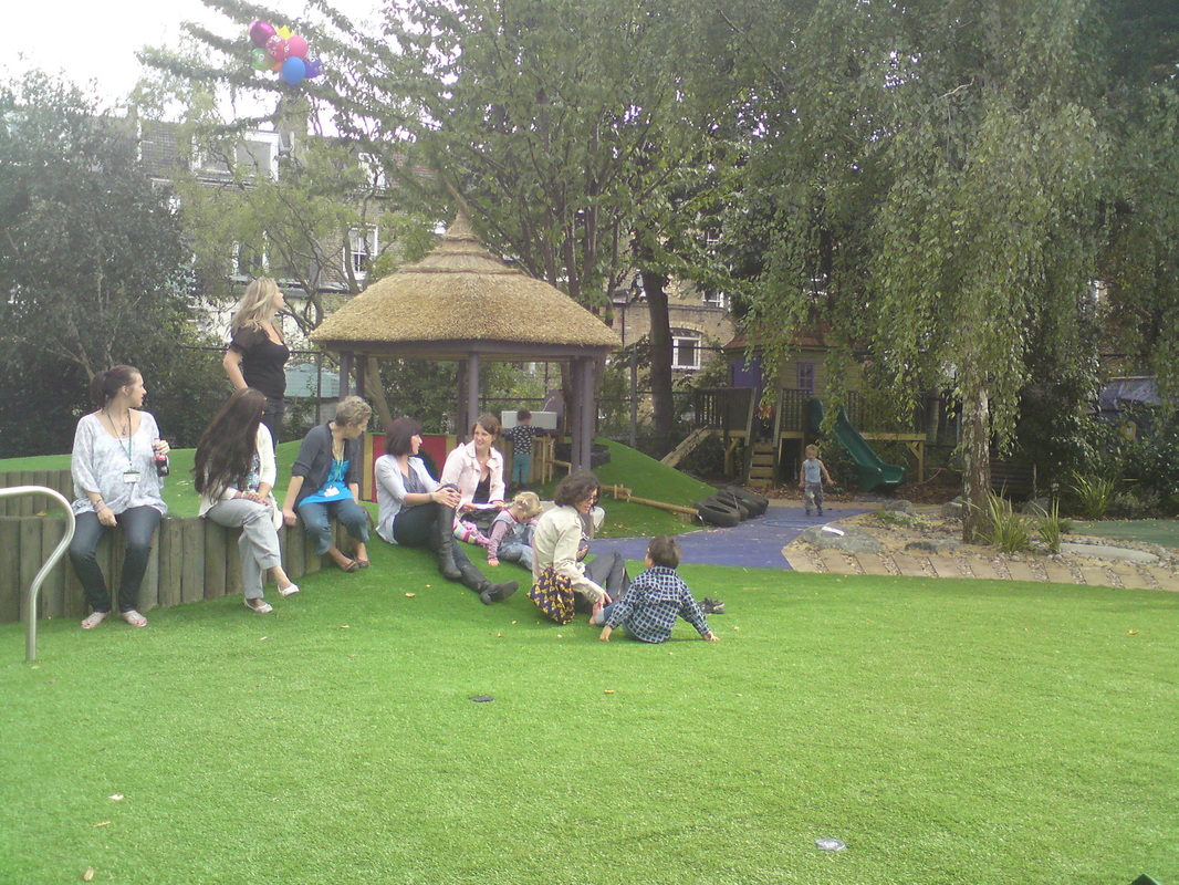 multi generational play ground caters for all age groups
