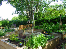 raised beds and kitchen gardens walled gardens vegetable garden design