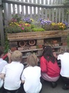 natural play - schoolplaygrounds design -outdoor classrooms  bug hotel